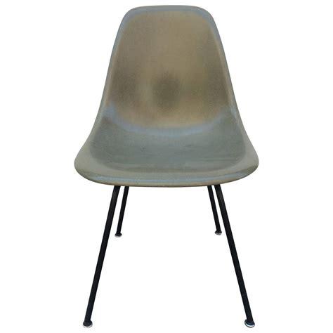 eames herman miller umber fiberglass chair for sale at