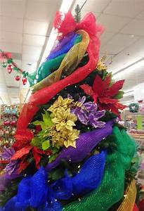 Ideas, And, Inspirations, Rainbow, Deco, Mesh, Christmas, Tree