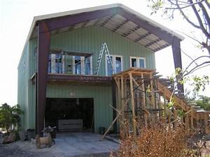 metal building homes gallery mbmi metal buildings With 2 story metal building home plans