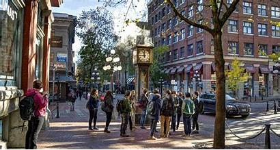 Vancouver Gastown Places Neighbourhoods District Things Rainy