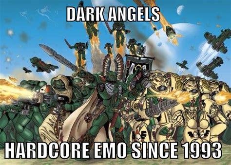 Space Marine Memes - dark angels meme 40k space marines sci fi military pinterest angel meme space marine and