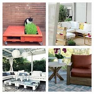 Déco De Jardin : salon de jardin palette bois fabrication avantages ~ Melissatoandfro.com Idées de Décoration