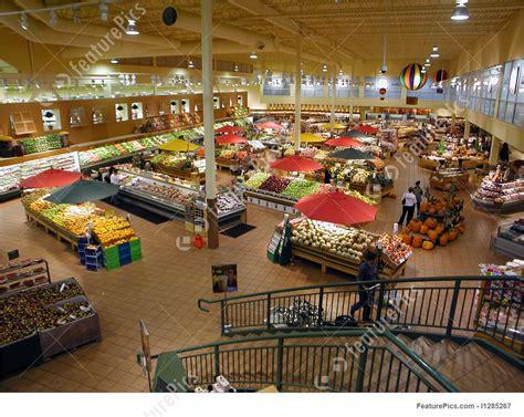 picture  supermarket interior