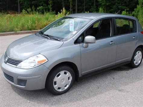 grey nissan versa hatchback nissan versa gray 2007 north carolina mitula cars