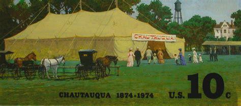 Rural America: Chautauqua Tent and Buggies