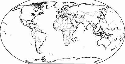 Coloring Countries Pages Map Printable Getcolorings