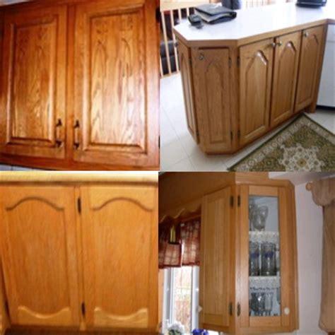 teindre armoire de cuisine armoires de cuisine en chêne nous les remettons a neuf
