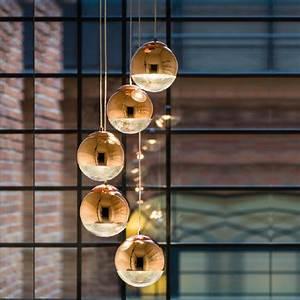 Pendelleuchte Kugel Kupfer : pendelleuchte gino kupfer glaskugel 1 3 oder 5 flammig ~ A.2002-acura-tl-radio.info Haus und Dekorationen