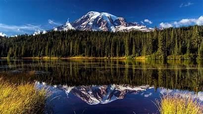 Alaska Spring Wallpapers Rainier Park Mount National