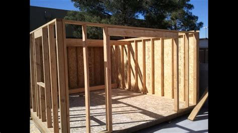 shed build youtube