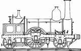 Steam Train Coloring Draw Locomotive Template Netart Sketch sketch template