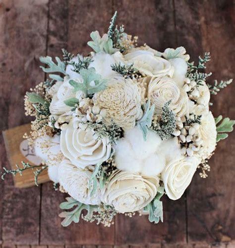 faux wedding flowers    real wedding