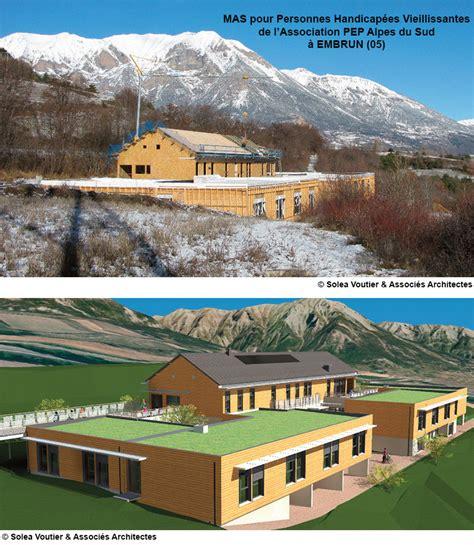 1 232 re maison d accueil sp 233 cialis 233 e 224 embrun toitures terrasse en caissons bois kerto ripa 174 de
