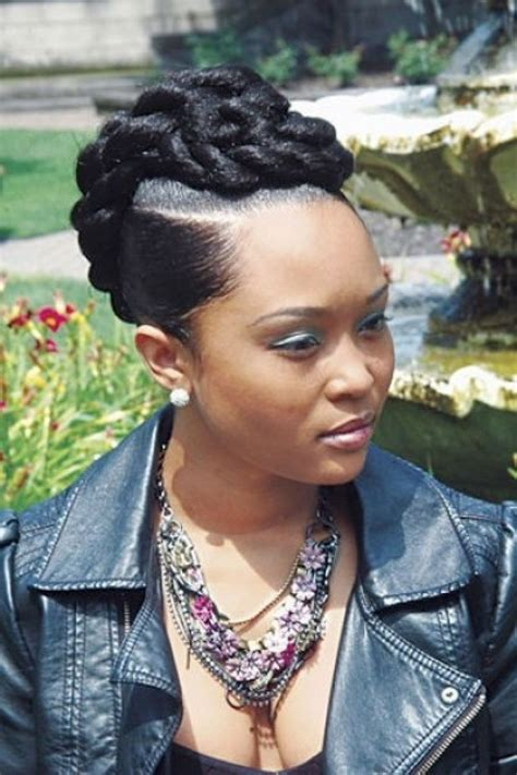 braid updo hairstyles black women african hairstyle