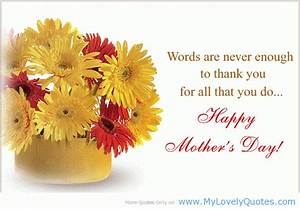 Words Are Never Enough To Thank You For All That You Do ...
