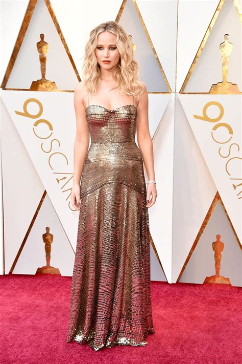 All The Best Oscars Red Carpet Looks Who What Wear