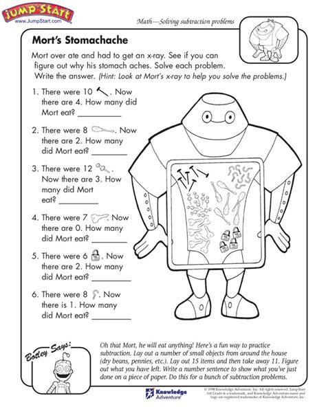 kindergartner problem science worksheet kindergartner