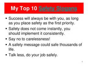 Workplace Safety Slogans and Quotes