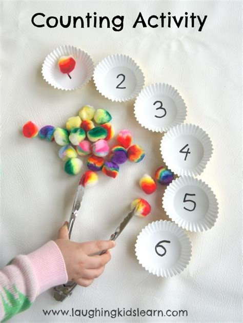 Simple counting activity for children - Laughing Kids ...