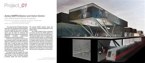 ceter template cargocollective architecture portfolio on behance