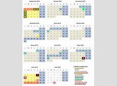 Calendario Escolar curso 20182019 En Madrid CursosMasters