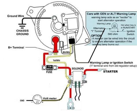 Ford Alt Wiring by Kicking Around Idea For A Mini Project Alternator