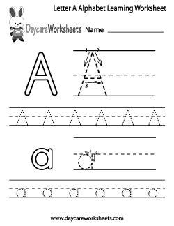 daycare worksheets  preschool worksheets  print