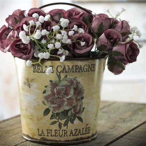 möbel im shabby chic shabby chic quot cagne quot pail kitchen and bath home decor