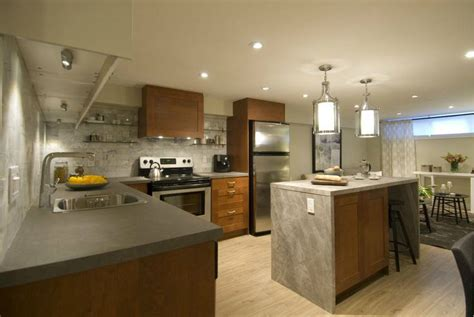 Basement Kitchen Gallery Basement Kitchen Ideas For