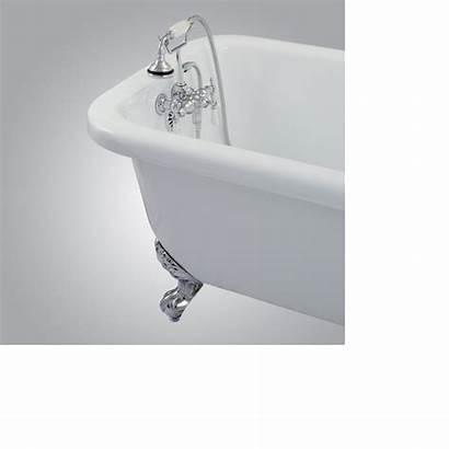 Clawfoot Master Bathroom Bathtub Bedroom Tub Downstairs