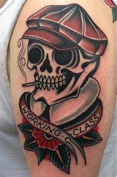 working class trad ink tattoo therapy tattoos skull