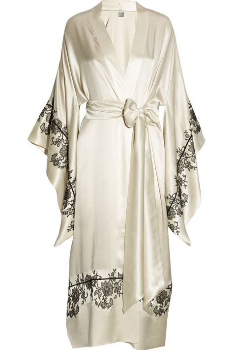 kimono fleece plus size silk kimono robe