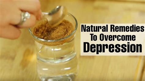 simple natural remedies  treat signs  depression