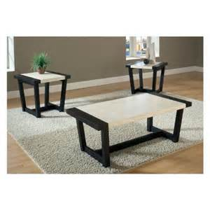 buy low price atlas 3 piece coffee end table set cm4188