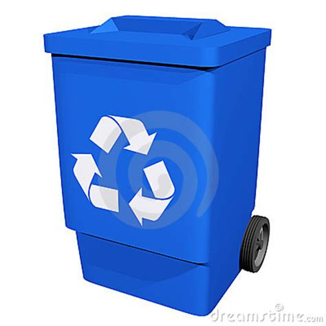 recycle bin clipart blue recycle bin clipart