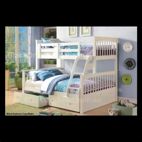 brighton bunk single double bed black orpheus