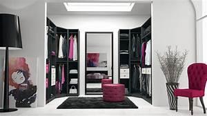 Plan Dressing En U : dressing pour votre chambre portes de placard pour chambre ~ Melissatoandfro.com Idées de Décoration
