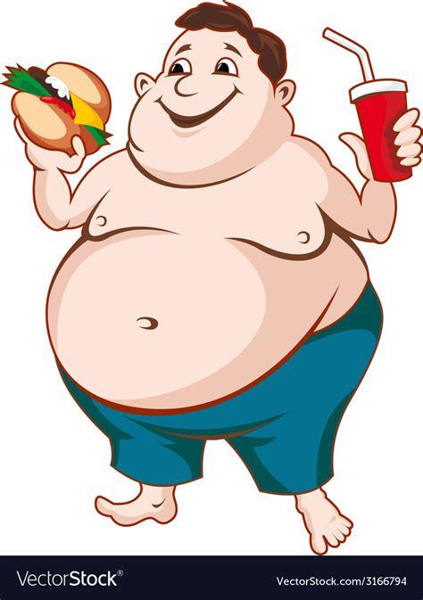foto de Fat man Royalty Free Vector Image VectorStock