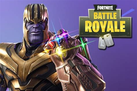 fortnite thanos gameplay changed   play  thanos