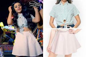 Camilla Cabello: 'Miss Moving On' Blouse & Skirt   Steal ...