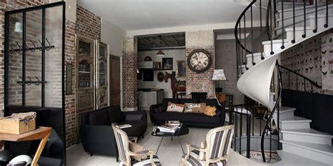 tapisserie cuisine 4 murs de l 39 authentique pur le style industriel la maison de