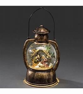 Lanterne De Noel : boule neige no l lanterne neige boule led cr che de no l 20 cm ~ Teatrodelosmanantiales.com Idées de Décoration