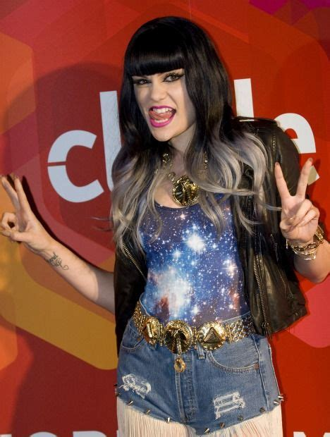 Jessie J Is The Latest Star To Experiment With Dip Dye