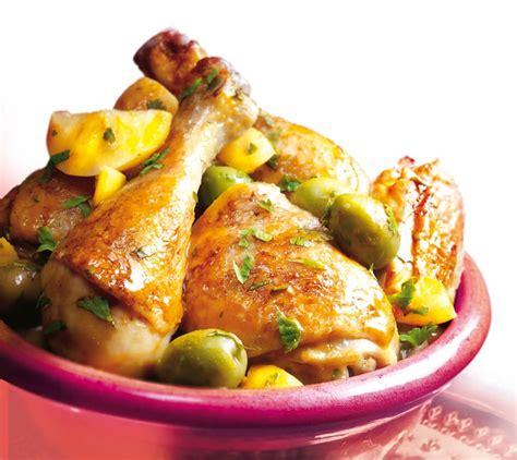 recette de cuisine au wok tajine de poulet la recette facile