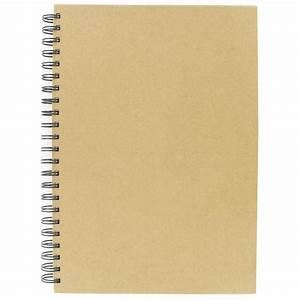 Kraft Notebook A4 Hobbycraft