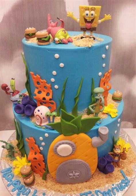 spongebob cake ideas spongebob themed cakes