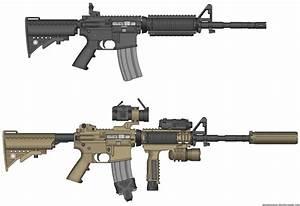 M4A1 by firetruckboy on DeviantArt