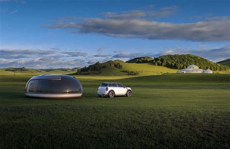 luxury camping pod concept influenced    mini