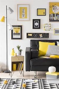 Canapé Jaune Maison Du Monde : tendance yellow summer chez maisons du monde anything is possible ~ Teatrodelosmanantiales.com Idées de Décoration