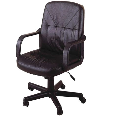 office chairs brown leather office chairs